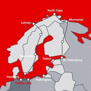 Einmal bis zum Nordkap und zurück: die Route der Baltic Sea Circle